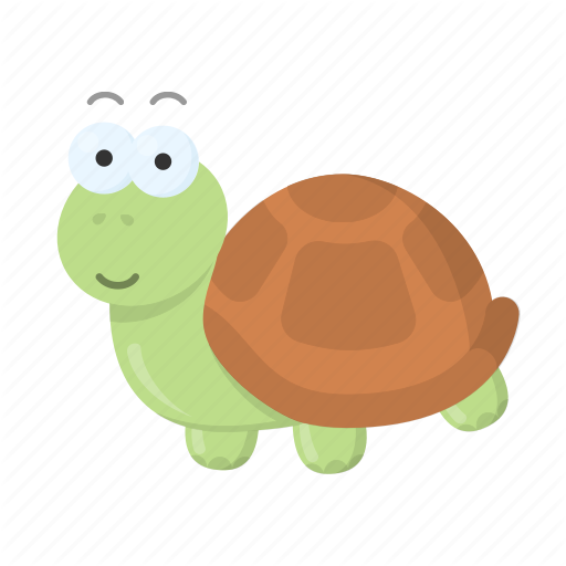 Animal, Cute, Tortoise, Toy, Turtle Icon