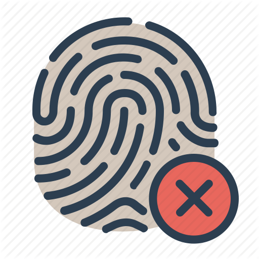 Biometric, Close, Fingerprint, Identification, Touch Id Icon