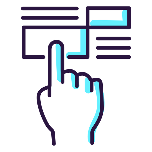 Augmented Reality Touchscreen Icon