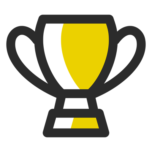 Sports Trophy Colored Stroke Icon