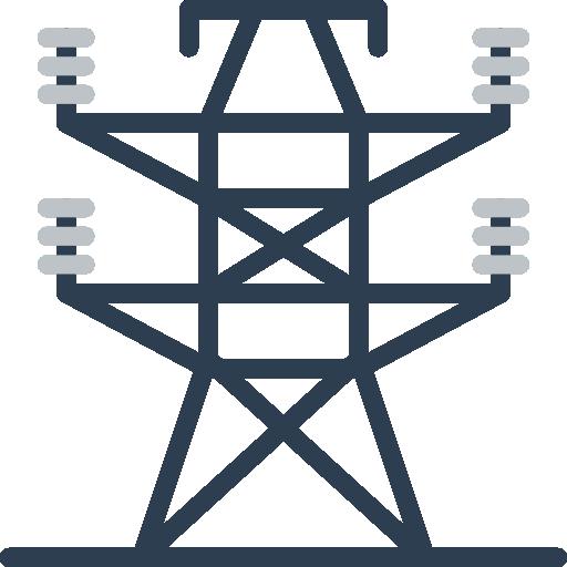 Electric Tower Icon Ecology Smashicons