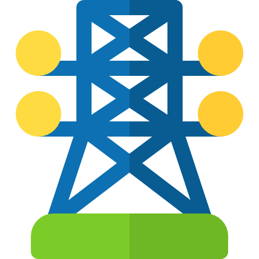 Electric Tower Icon Renewable Energy Freepik