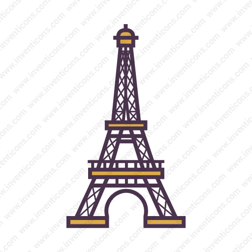Download Eiffel,tower Icon Inventicons