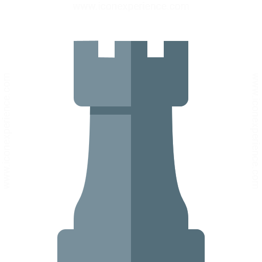 Iconexperience G Collection Chess Piece Rook Icon