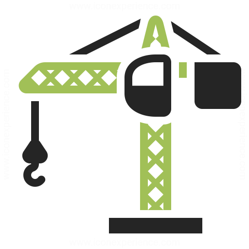 Tower Crane Icon Iconexperience