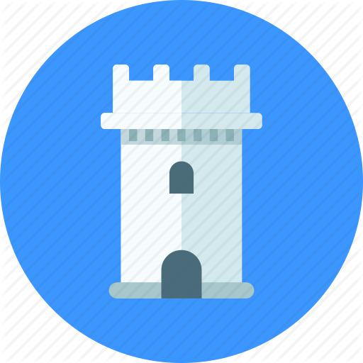 Bastion, Castle, Tower Icon