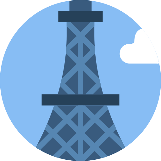 Fernsehturm Berlin Monuments Png Icon