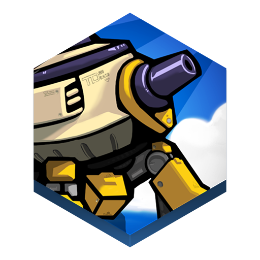 Game Tower Defense Icon Hex Iconset