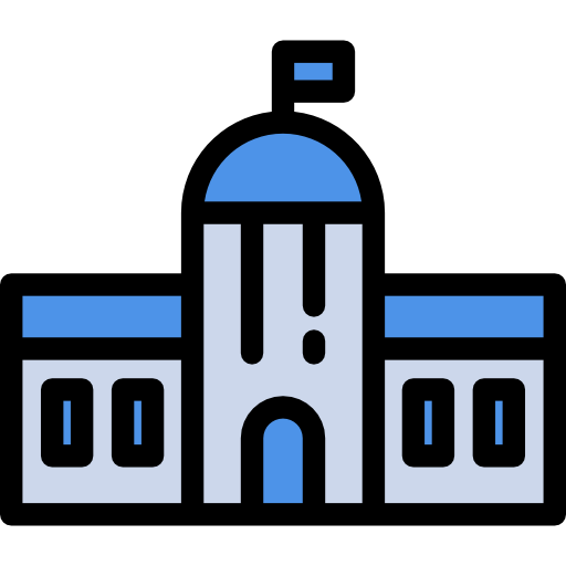 Buildings City Hall Flat Icon