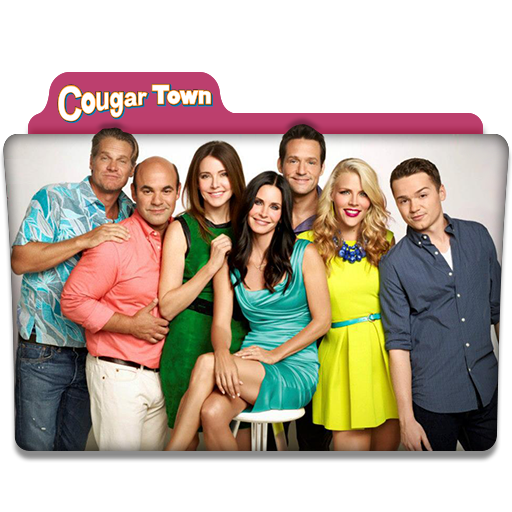 Cougar Town Tv Series Folder Icon