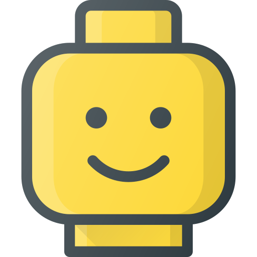 Lego, Figure, Head, Smile, Toy Icon Free Of Free Set Color Outline