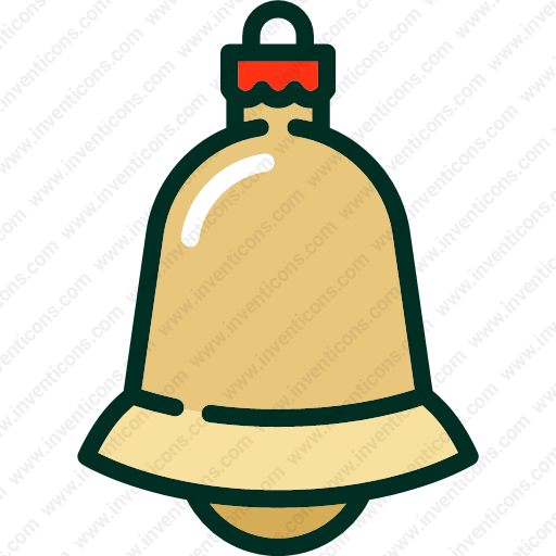 Download Christmas,ball,decoration,bell,toy Icon Inventicons