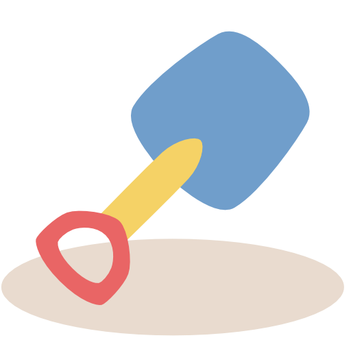 Shovel, Beach, Toy Icon Free Of Vacation Time Icons