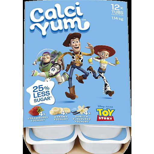 Calciyum Movie Pack Child Yoghurt Toy Story