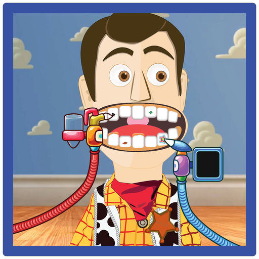 Dentist Kids Game Toy Story Version