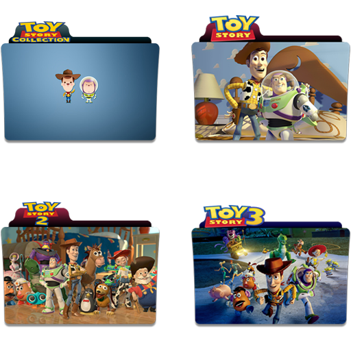 Toy Story Folder Icon Pack