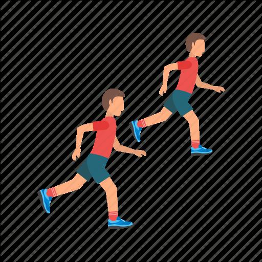 Athletics, Field, Olympic, Running, Sport, Sprint, Track Icon