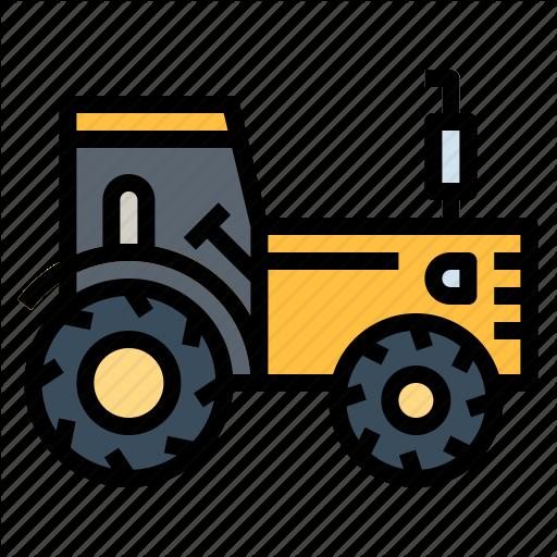 Engine, Farm, Farming, Gardening, Tractor Icon