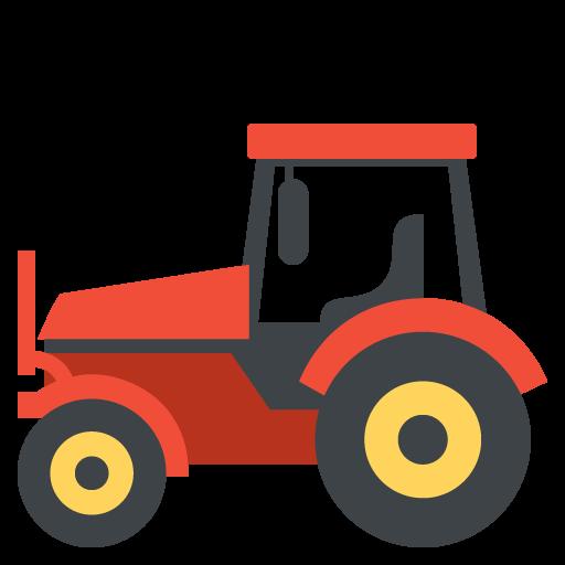 Tractor Emoji Vector Icon Free Download Vector Logos Art