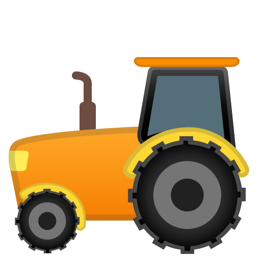Tractor Icon Free Of Noto Emoji Travel Places Icons