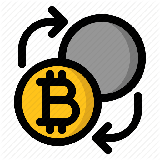 Bitcoin, Cryptocurrency, Exchange, Trade Icon