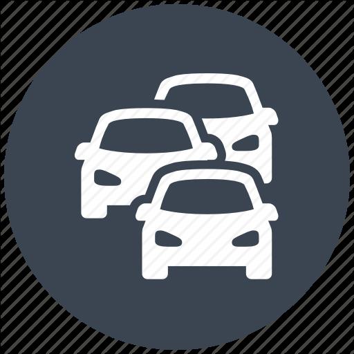 Car, Cars, Jam, Traffic, Transport, Travel Icon