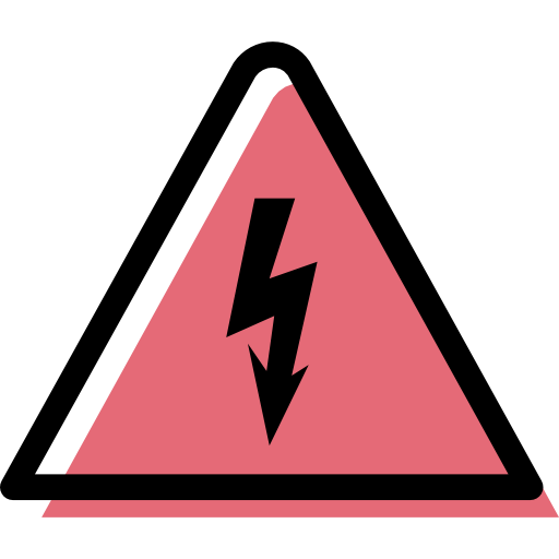 Electricity, Traffic, Sign Icon Free Of Color Traffic Signs
