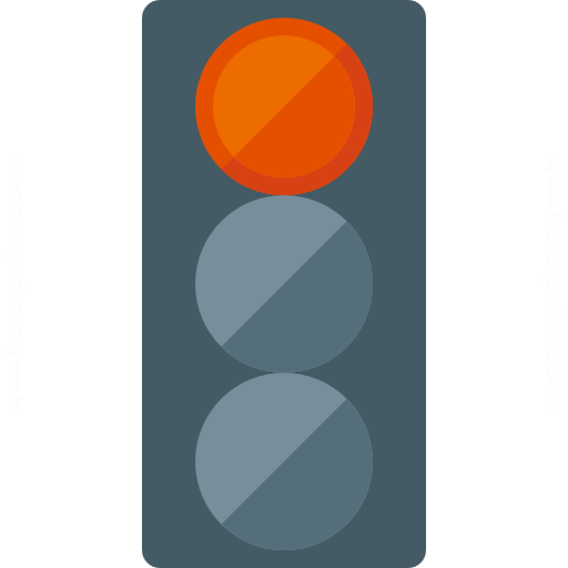 Iconexperience G Collection Trafficlight Red Icon