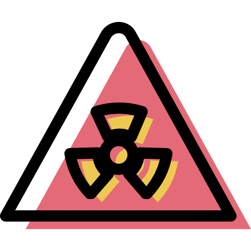 Nuclear, Traffic, Sign Icon Free Of Color Traffic Signs Collection