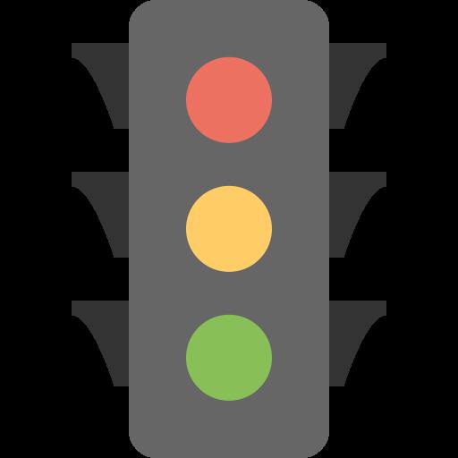 Traffic Light Icon Flat Free Sample Iconset Squid Ink