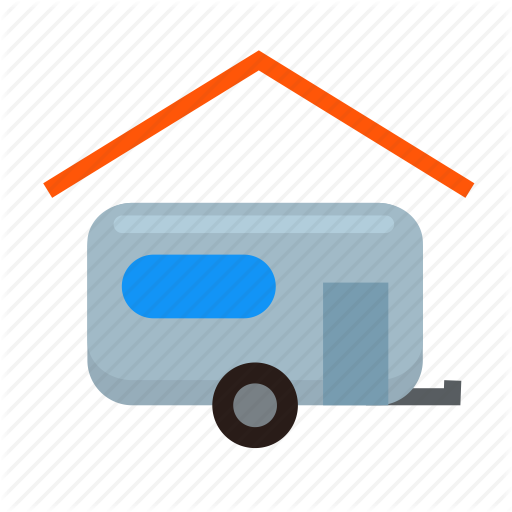 Camping, Carport, Garage, Indoor, Parking, Rv, Trailer Icon