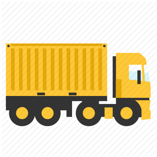 Cargo, Contrainer, Semi, Trailer, Transport, Truck Icon