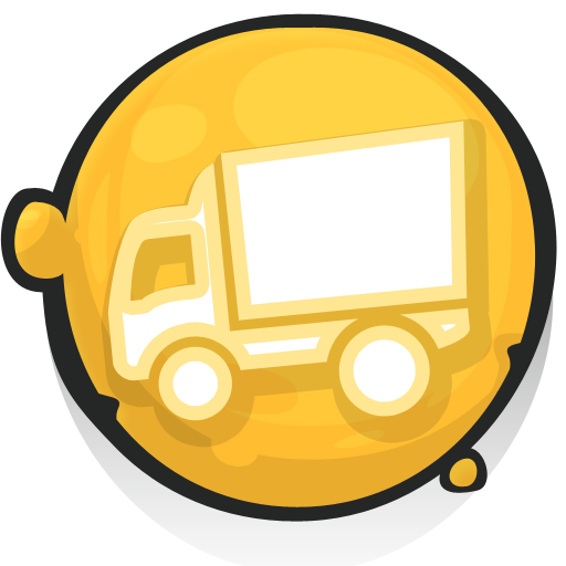 Free High Quality Truck Trailer Icon