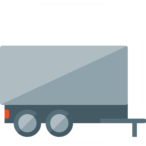 Iconexperience G Collection Truck Trailer Icon