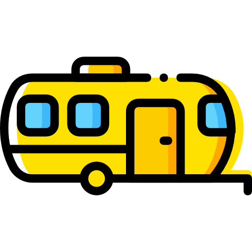 Transportation, Transport, Trailer Icon