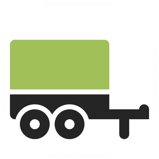 Truck Trailer Icon Iconexperience