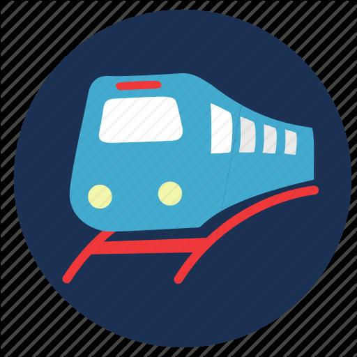 And, Metro, Rail, Train, Travel, Vacation Icon
