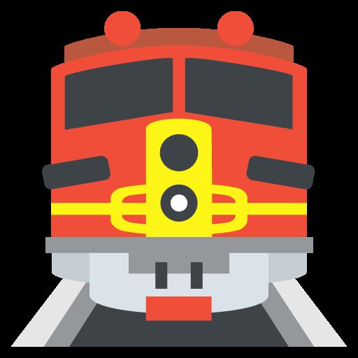 Train Emoji Vector Icon Free Download Vector Logos Art Graphics
