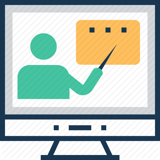 Lecture, Online Lecture, Online Training, Presentation, Training Icon