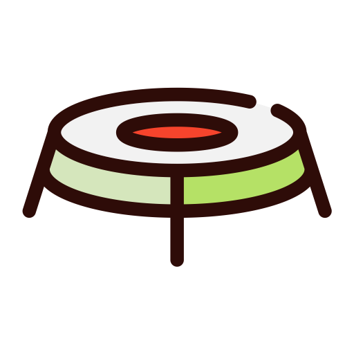 Trampoline, Sports, Jumping Icon With Png And Vector Format