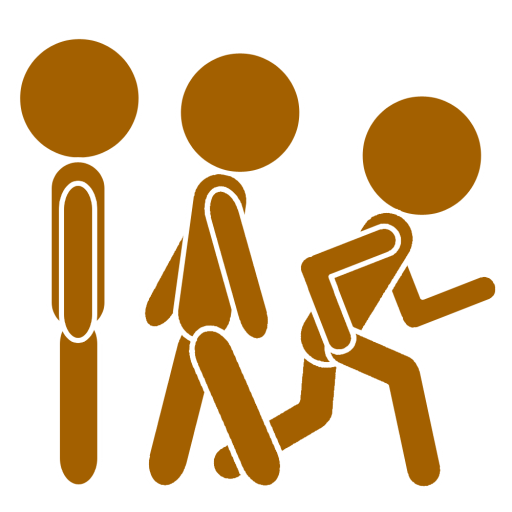Cropped Trans Icon Keep Walk And Run Keep Walk Run