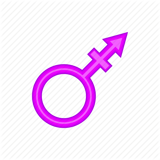 Cartoon, Female, Gender, Male, Sex, Sign, Transgender Icon