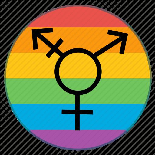 Flag, Gender, Lgbt, Pride, Rainbow, Transgender Icon