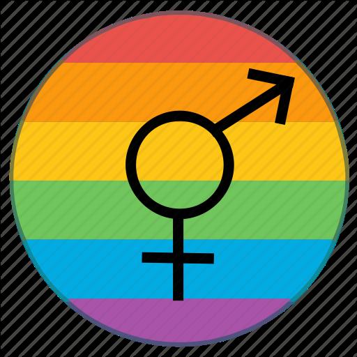 Flag, Gender, Lgbt, Rainbow, Sex, Transgender Icon