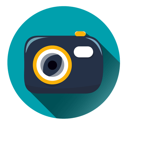 Camera Round Icon
