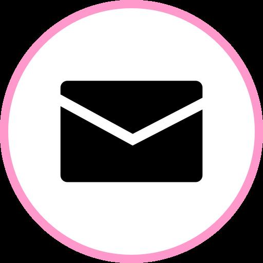 Email Transparent Pink Logo Png Images