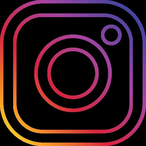 Photo Round Social Instagram Icon Logo Image