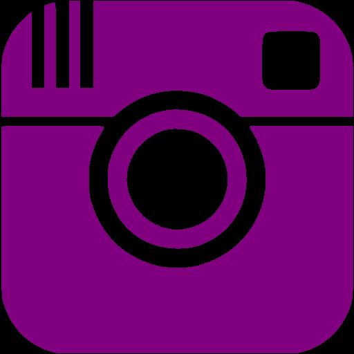 Purple Instagram Icon