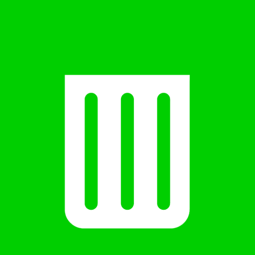 Bin, Empty, Metro, Recycle Icon