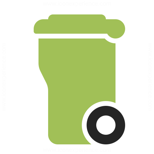 Garbage Container Icon Iconexperience